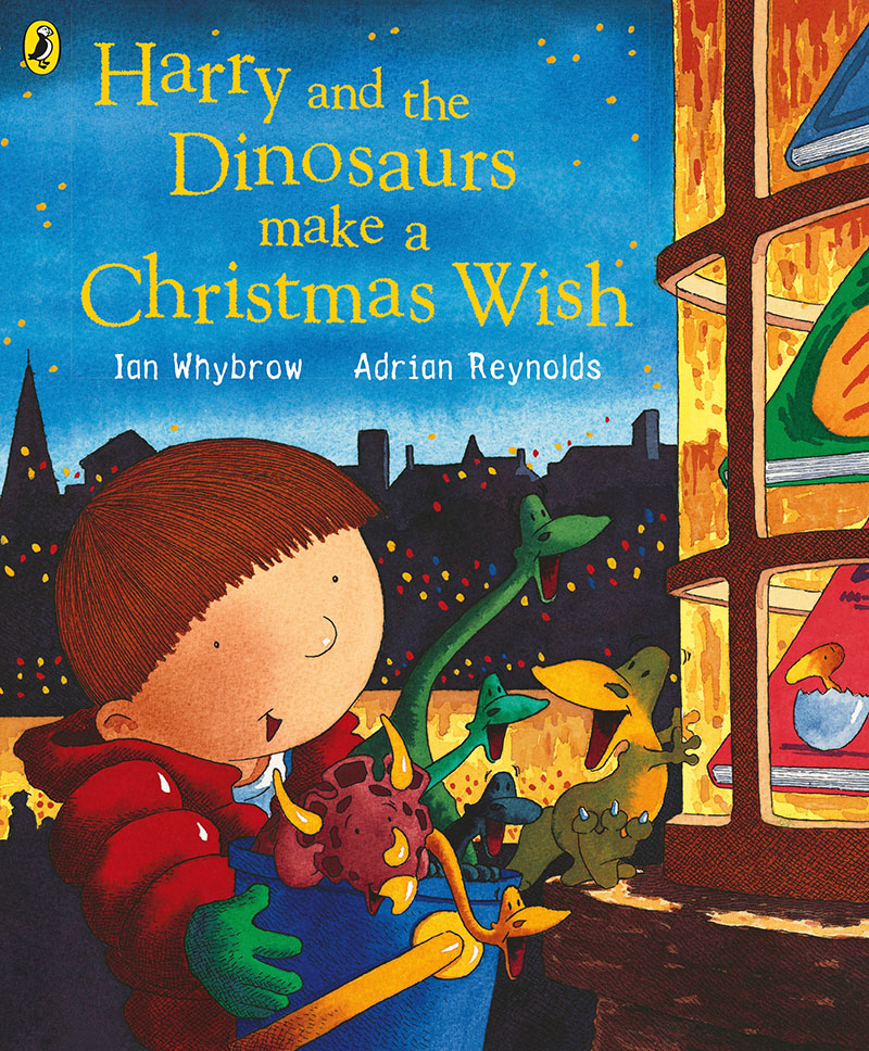 Harry and the Dinosaurs Make a Christmas Wish - Jacket