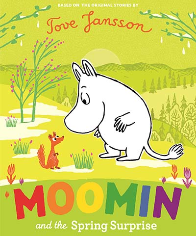 Moomin and the Spring Surprise - Jacket