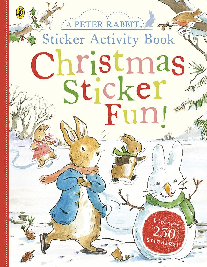Peter Rabbit Christmas Fun Sticker Activity Book - Jacket