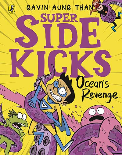 The Super Sidekicks: Ocean's Revenge - Jacket