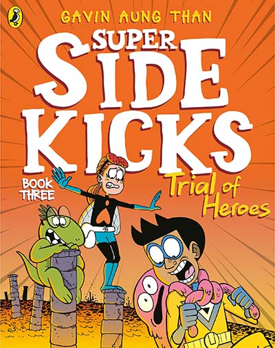 The Super Sidekicks: Trial of Heroes - Jacket