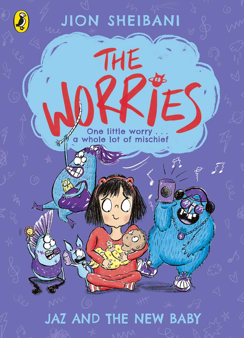 The Worries: Jaz and the New Baby - Jacket