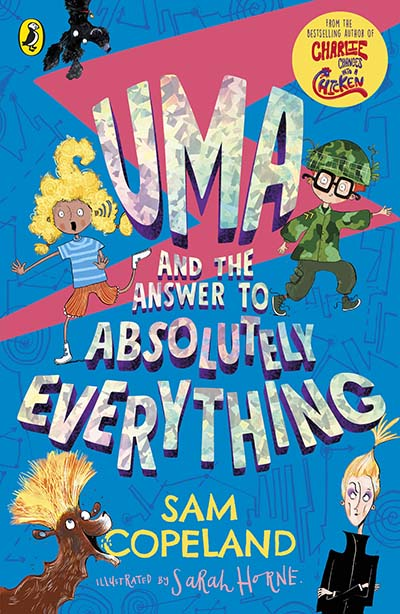 Uma and the Answer to Absolutely Everything - Jacket