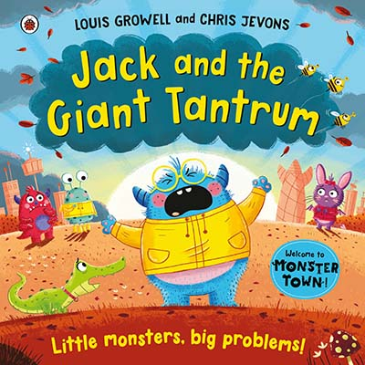 Jack and the Giant Tantrum - Jacket