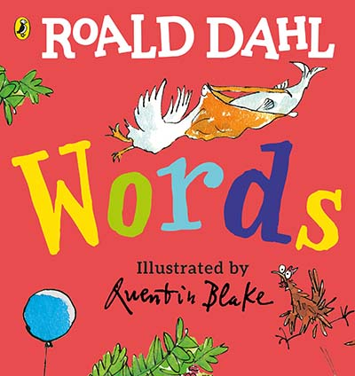 Roald Dahl: Words - Jacket