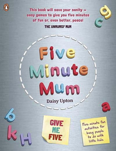 Five Minute Mum: Give Me Five - Jacket