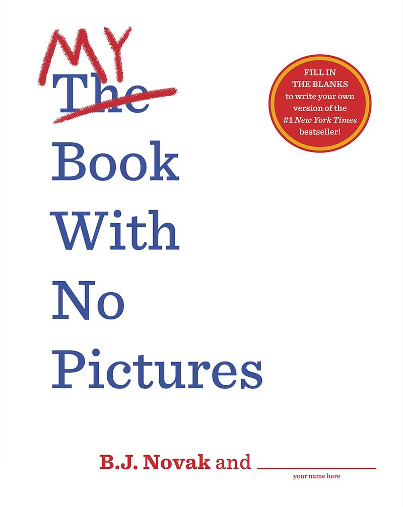 My Book With No Pictures - Jacket