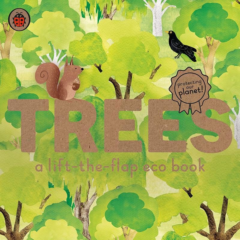 Trees: A lift-the-flap eco book - Jacket