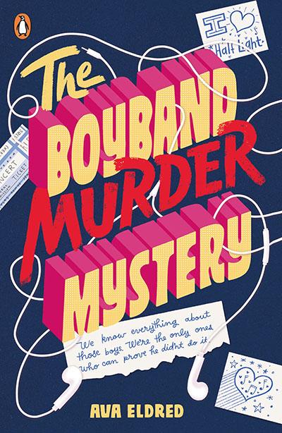 The Boyband Murder Mystery - Jacket