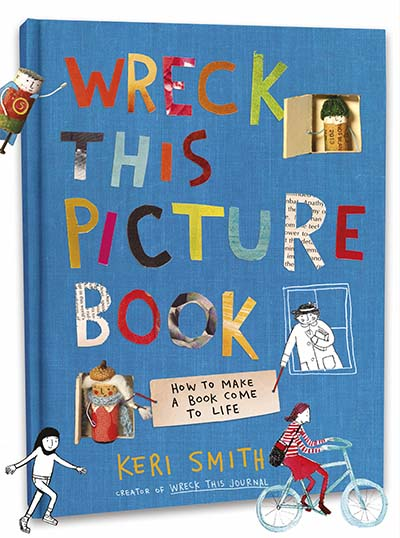 Wreck This Picture Book - Jacket