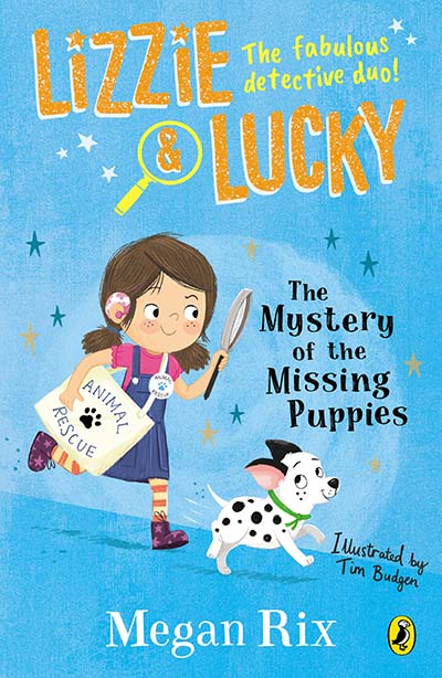Lizzie and Lucky: The Mystery of the Missing Puppies - Jacket