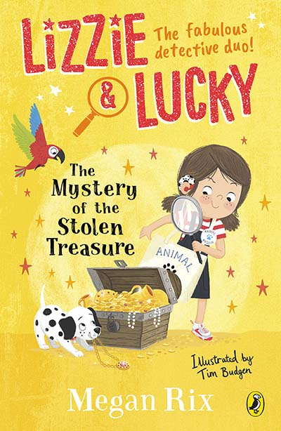 Lizzie and Lucky: The Mystery of the Stolen Treasure - Jacket