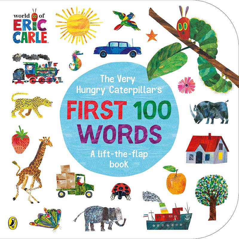 The Very Hungry Caterpillar's First 100 Words - Jacket