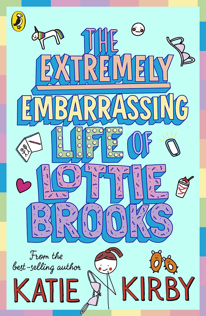 The Extremely Embarrassing Life of Lottie Brooks - Jacket