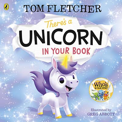 There's a Unicorn in Your Book - Jacket