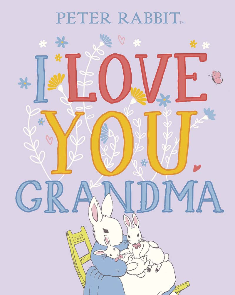 Peter Rabbit I Love You Grandma - Jacket
