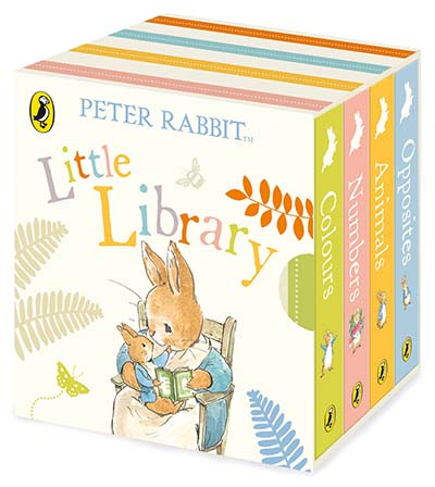 Peter Rabbit Tales: Little Library - Jacket