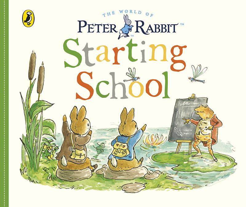 Peter Rabbit Tales: Starting School - Jacket