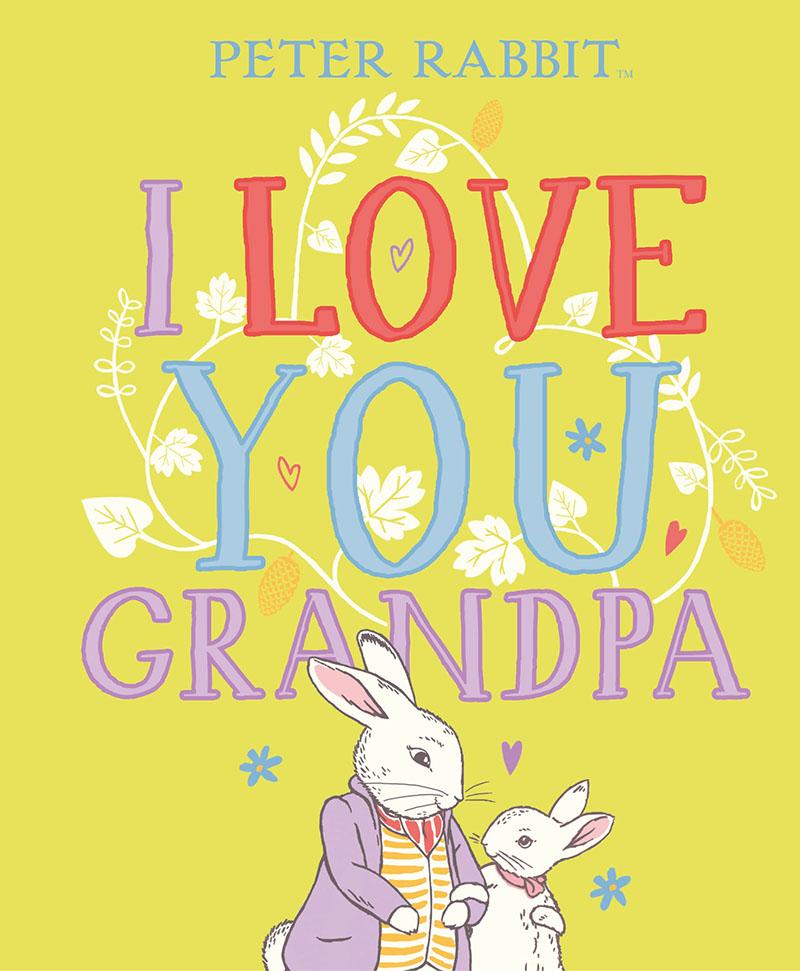 Peter Rabbit I Love You Grandpa - Jacket