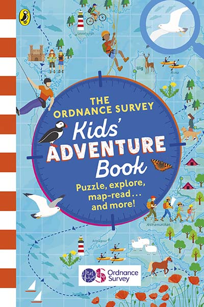 The Ordnance Survey Kids Adventure Book - Jacket