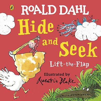 Roald Dahl: Lift-the-Flap Hide and Seek - Jacket