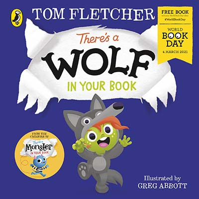 There's a Wolf in Your Book: World Book Day 2021 - Jacket