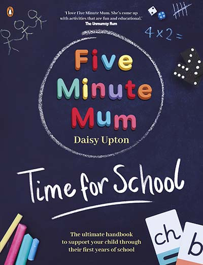 Five Minute Mum: Time For School - Jacket