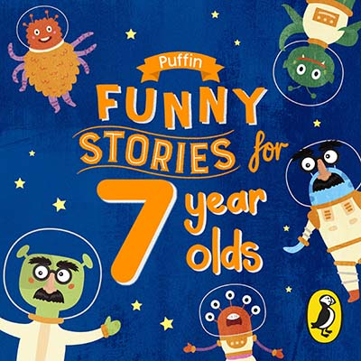 Puffin Funny Stories for 7 Year Olds - Jacket