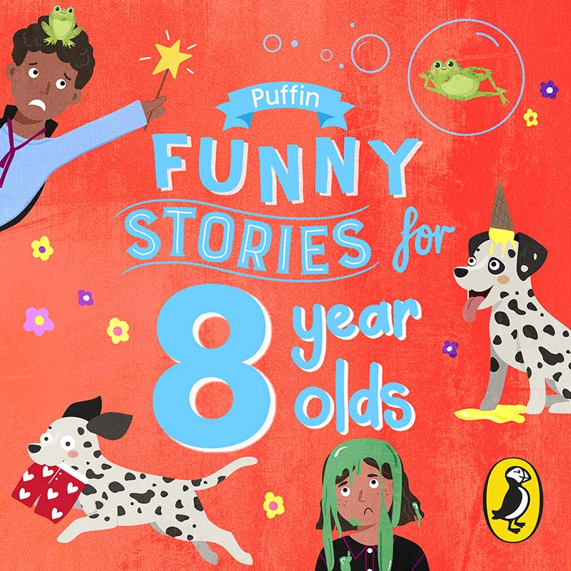 Puffin Funny Stories for 8 Year Olds - Jacket