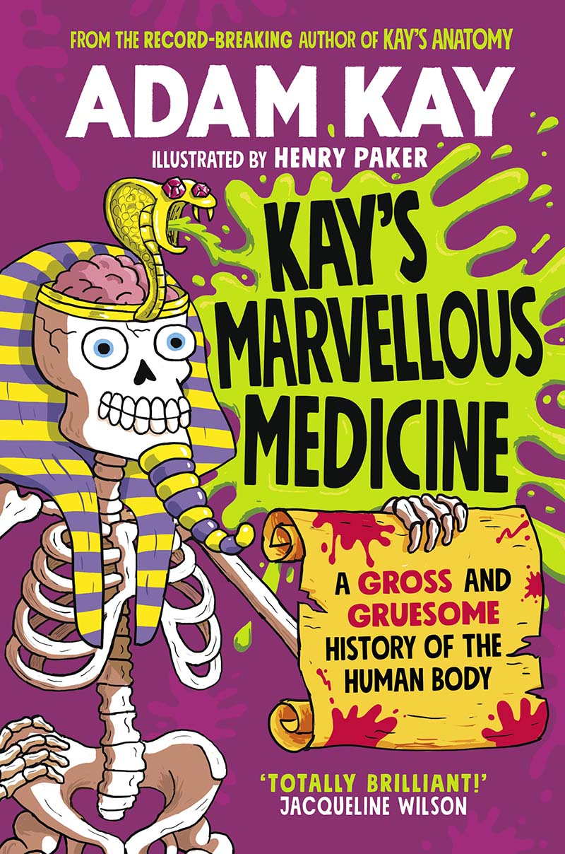 Kay's Marvellous Medicine - Jacket