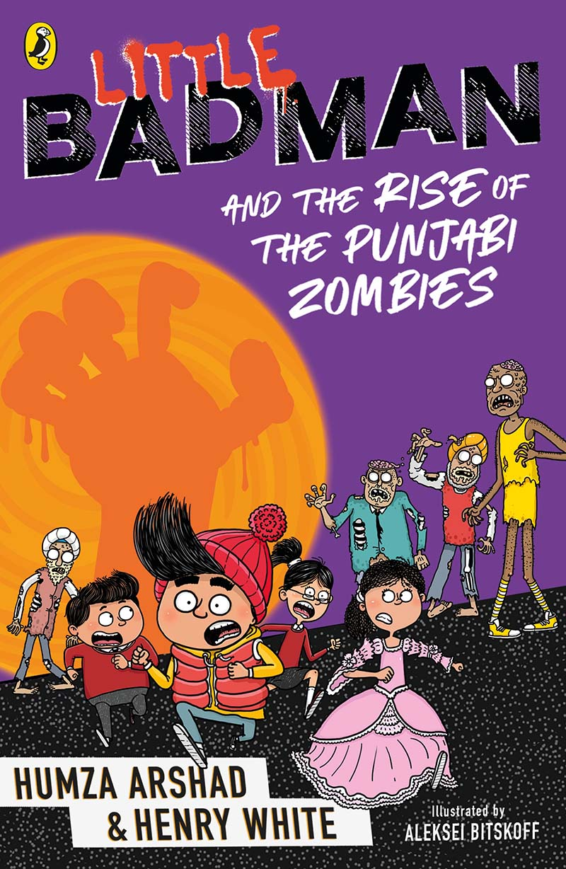 Little Badman and the Attack of the Punjabi Zombies - Jacket