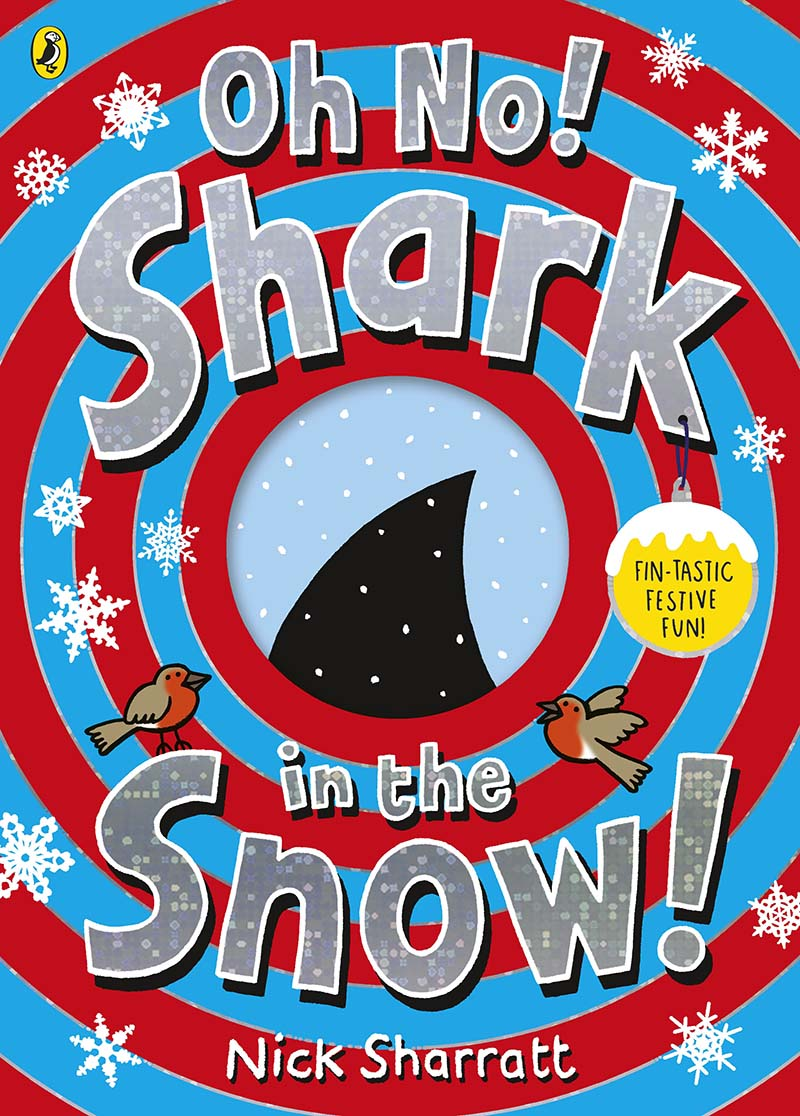 Oh No, Shark in the Snow! - Jacket