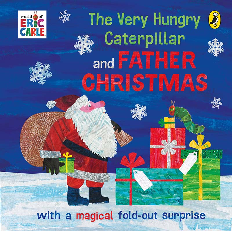 The Very Hungry Caterpillar and Father Christmas - Jacket