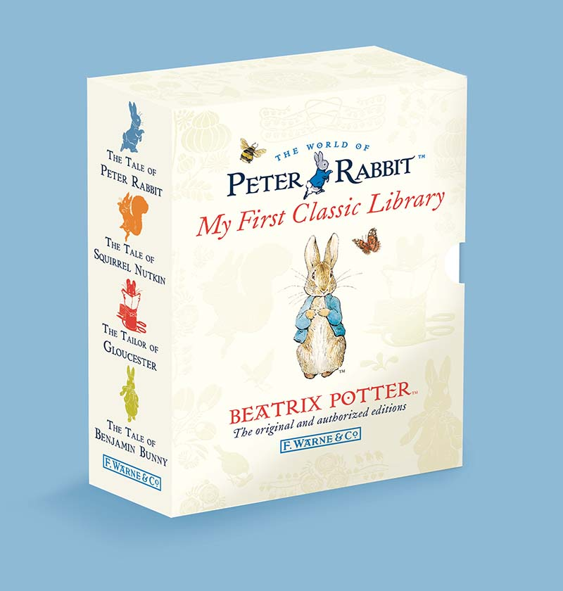 Peter Rabbit: My First Classic Library - Jacket