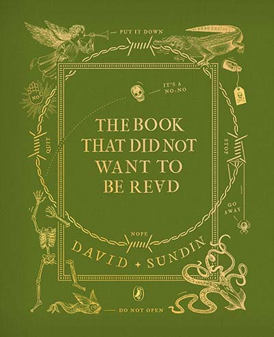 The Book That Did Not Want To Be Read - Jacket
