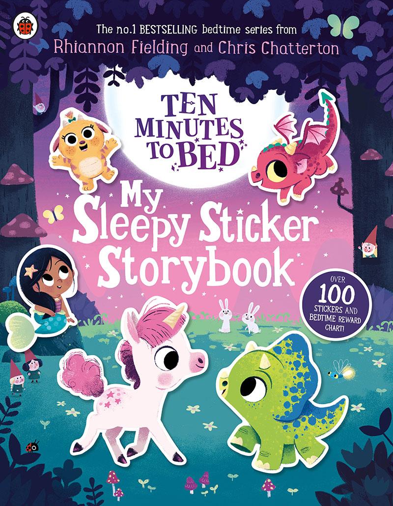 Ten Minutes to Bed: My Sleepy Sticker Storybook - Jacket