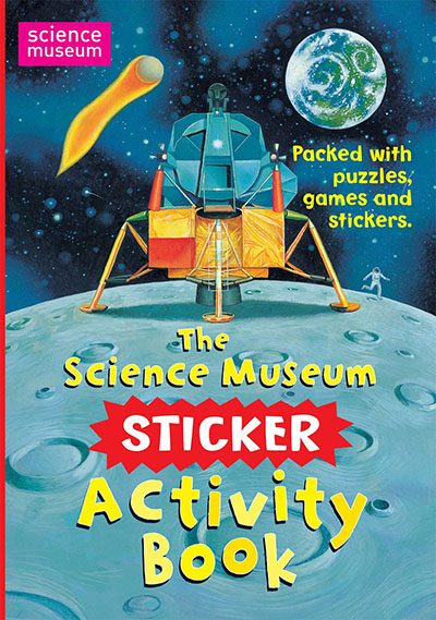 The Science Museum Sticker Activity Book - Jacket