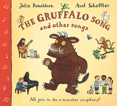 The Gruffalo Song and Other Songs Book and CD Pack - Jacket