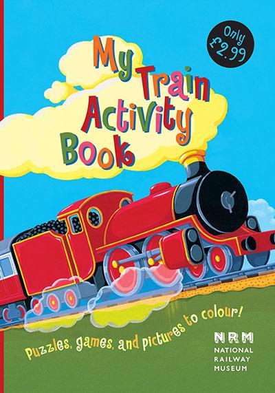 My Train Activity Book - Jacket