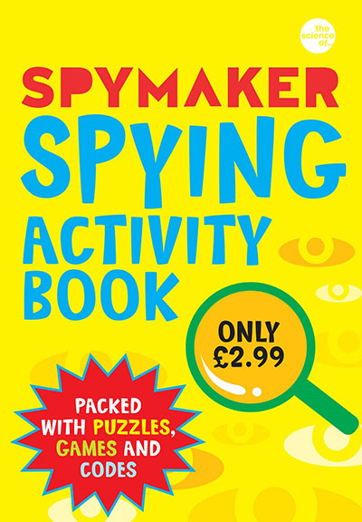 Spymaker: Spying Activity Book - Jacket