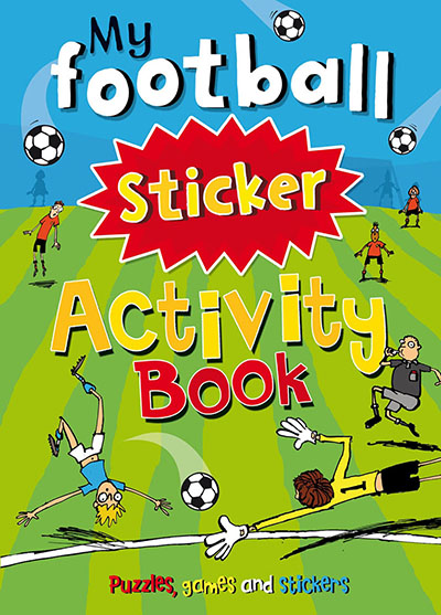 My Football Sticker Activity Book - Jacket