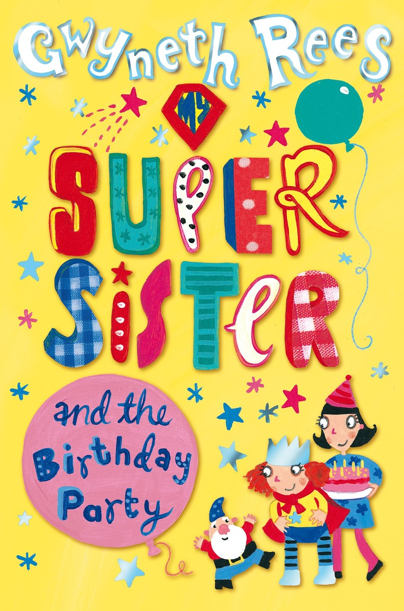 My Super Sister and the Birthday Party - Jacket