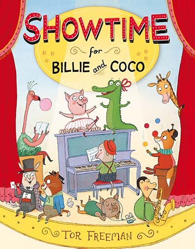 Showtime for Billie and Coco - Jacket