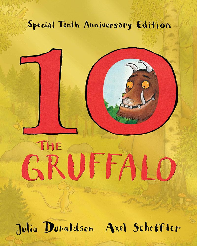 The Gruffalo 10th Anniversary Edition - Jacket