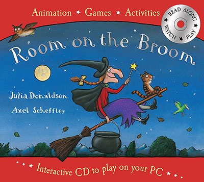 Room on the Book Book and Interactive CD Pack - Jacket