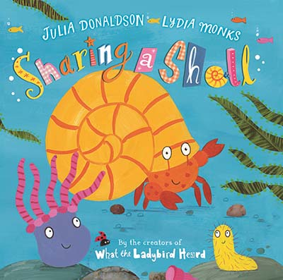 Sharing a Shell Big Book - Jacket