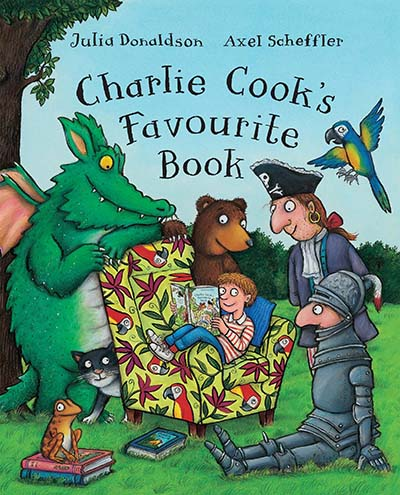 Charlie Cook's Favourite Book Big Book - Jacket