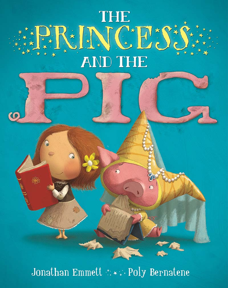 The Princess and the Pig - Jacket