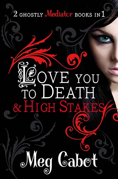 The Mediator: Love You to Death and High Stakes - Jacket