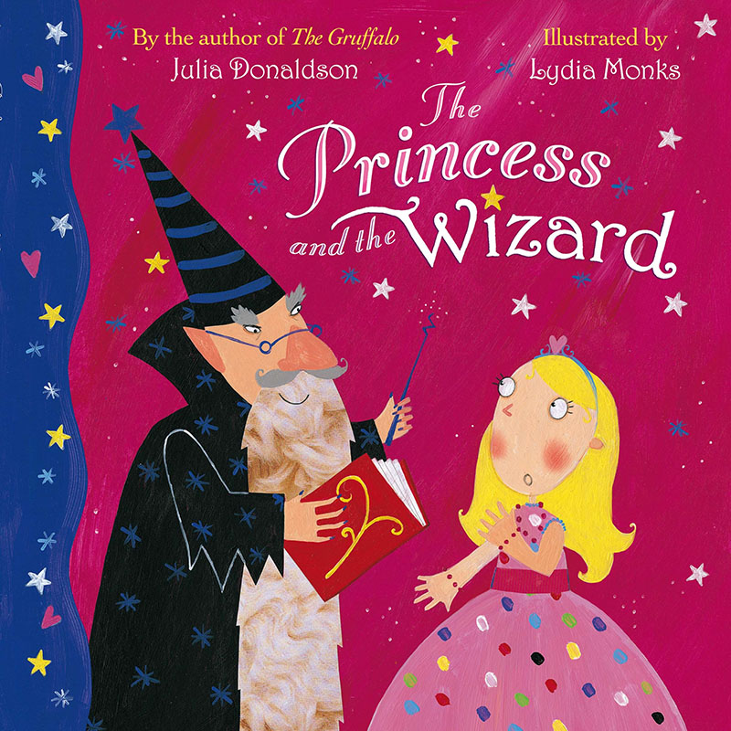 The Princess and the Wizard Big Book - Jacket